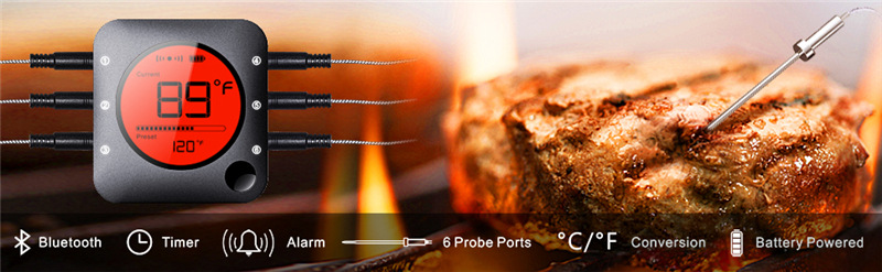 烤肉烤箱食品测温计