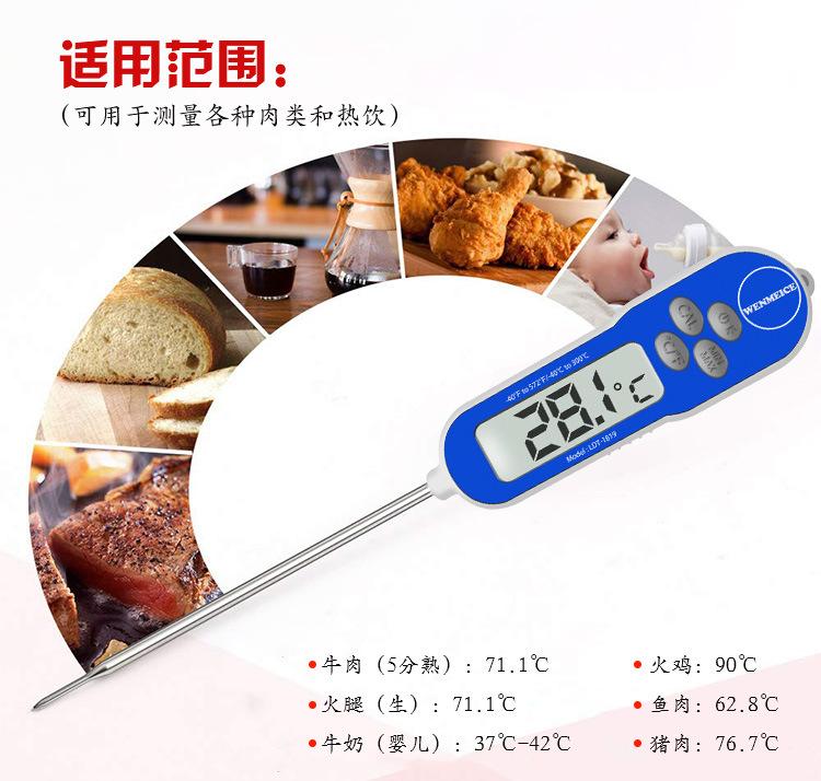电子BBQ背光温度计