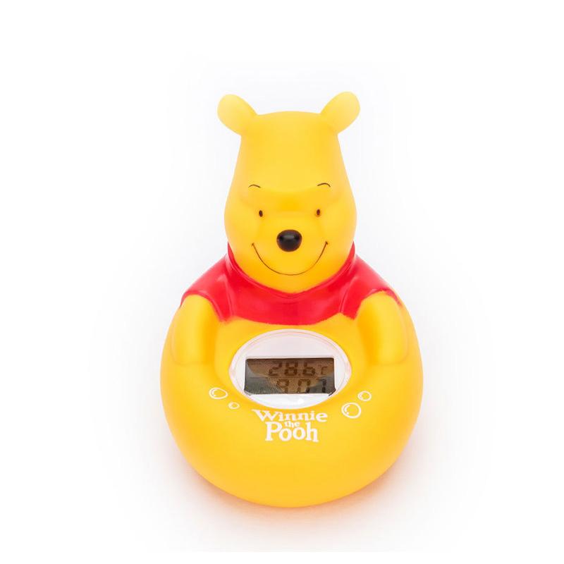温美测婴儿水温计宝宝测量水温温度计 婴儿洗澡玩具温度计 卡通维尼水温计 安全