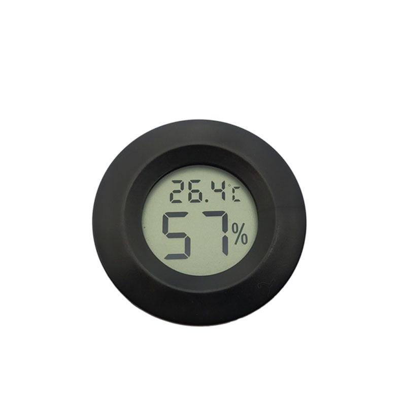 温美测CH02圆形嵌入式电子温湿度计 种植大棚饲养家禽 宠物爬虫饲养箱温度计
