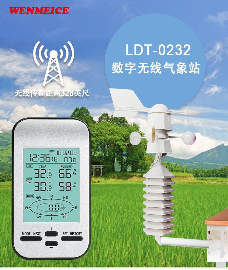 小型家用无线气象站